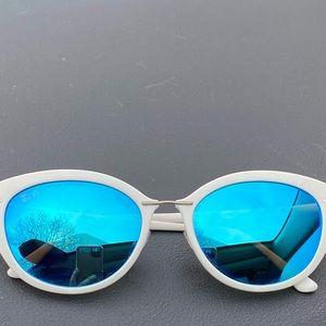 Titanium- New Ray Ban Cat Eye Sunglasses
